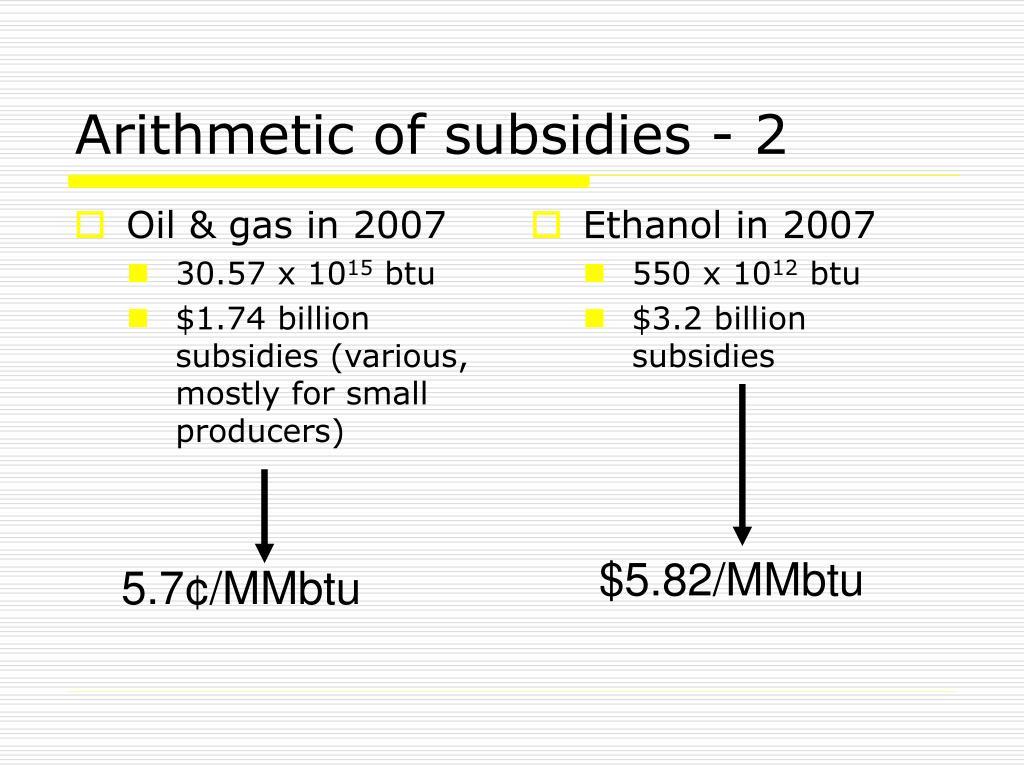 Oil & gas in 2007