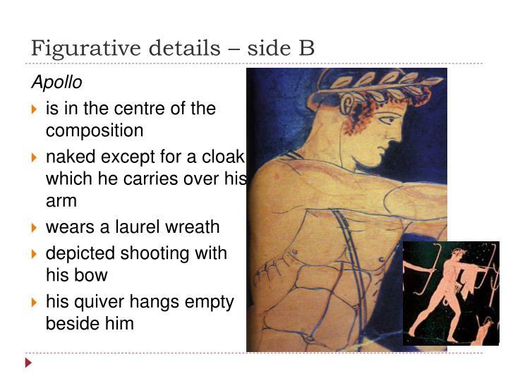 Figurative details – side B