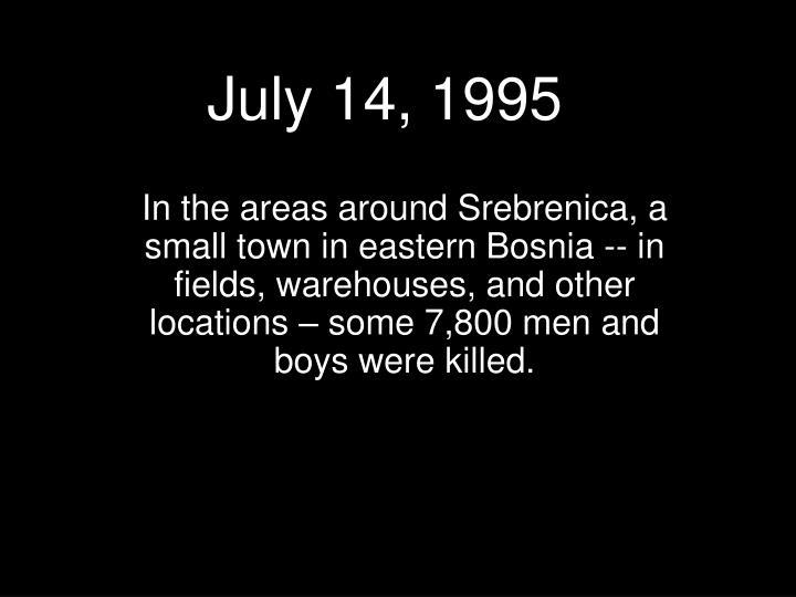July 14, 1995