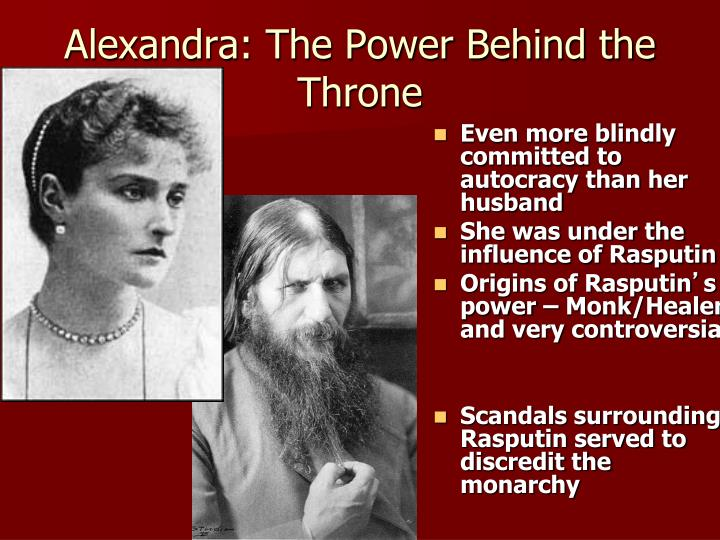 Alexandra: The Power Behind the Throne