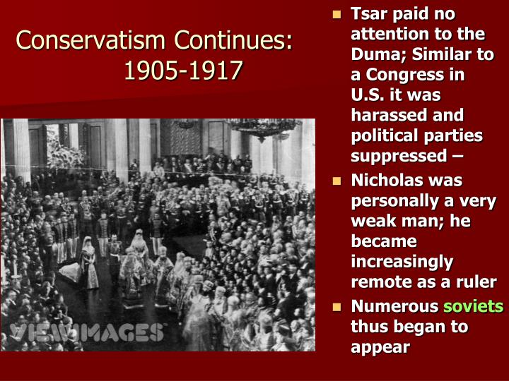 Conservatism Continues: