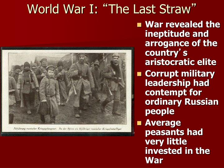 World War I: