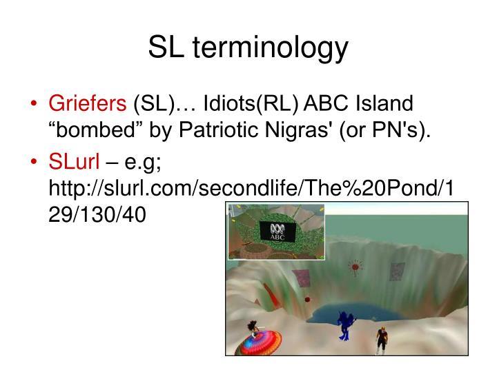 SL terminology