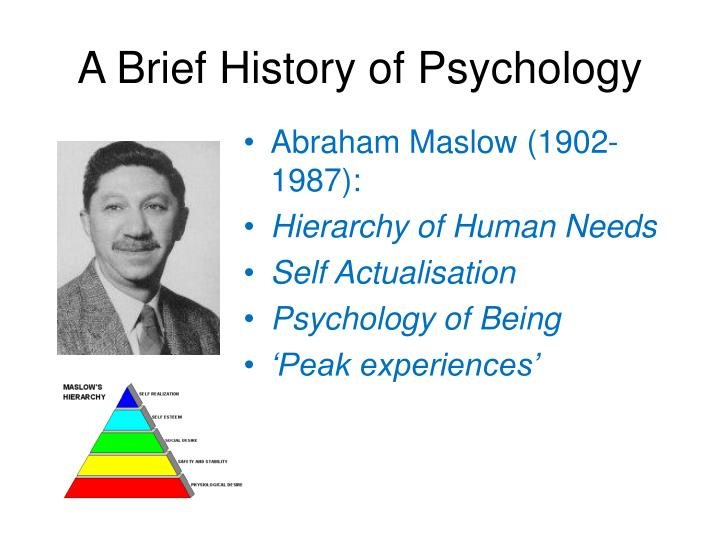 brief history of psychology Psychology press new york london a brief history of psychology fifth edition michael wertheimer professor emeritus, university of colorado at boulder.