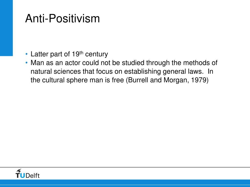 Anti-Positivism