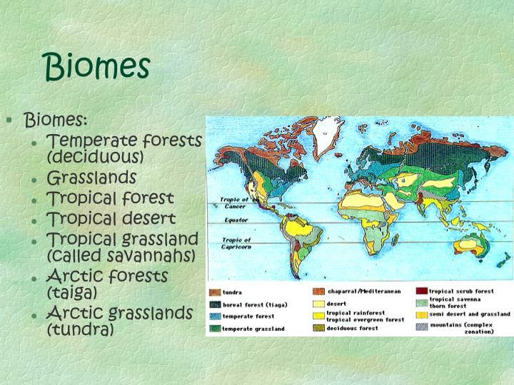 Biomes