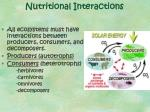 nutritional interactions