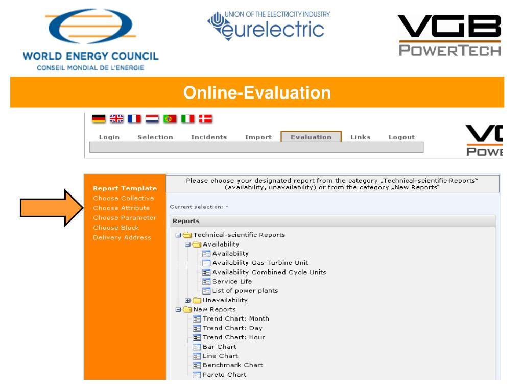Online-Evaluation