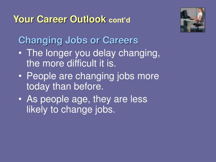 Your Career Outlook