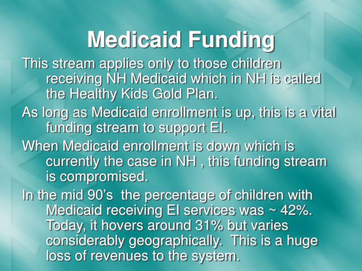 Medicaid Funding