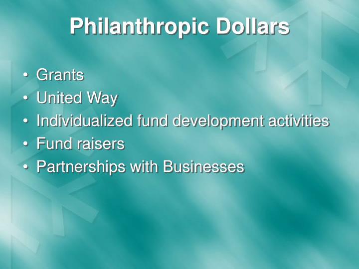 Philanthropic Dollars