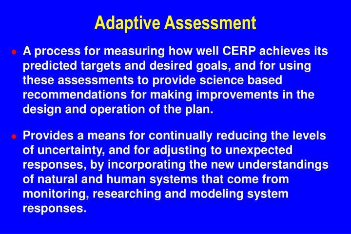 Adaptive Assessment