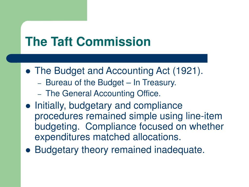 The Taft Commission