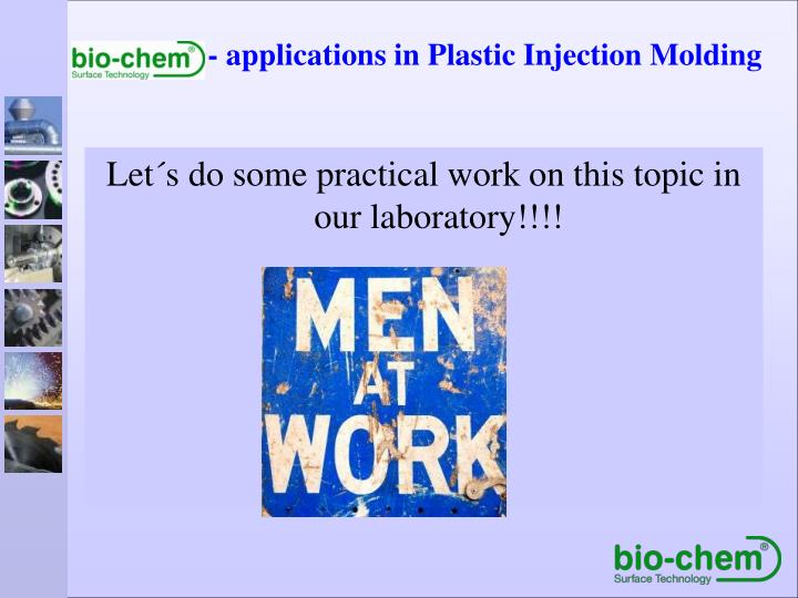 Let´s do some practical work on this topic in our laboratory!!!!