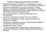 turkey s lingering governance problems