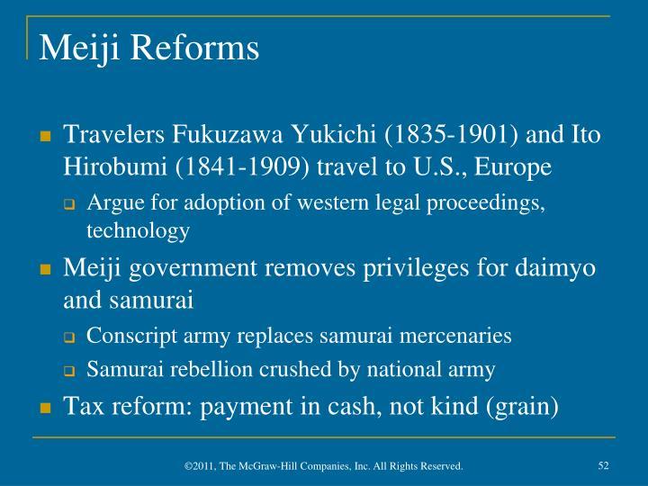 Meiji Reforms