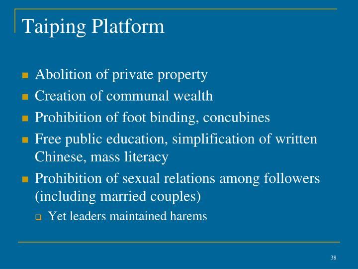 Taiping Platform