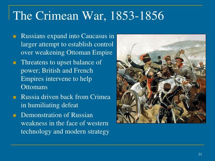The Crimean War, 1853-1856