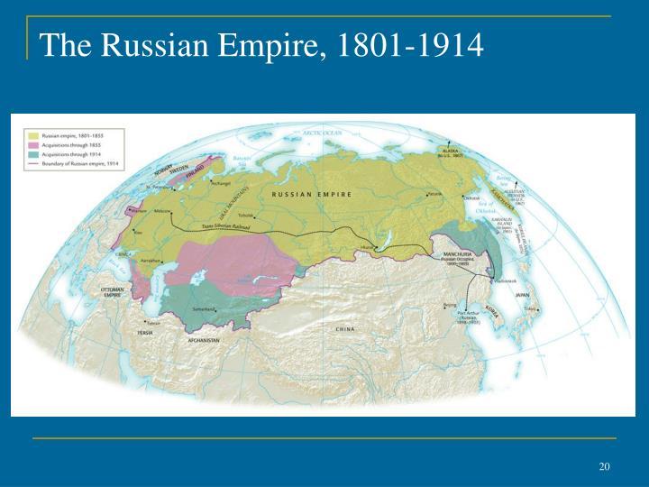 The Russian Empire, 1801-1914