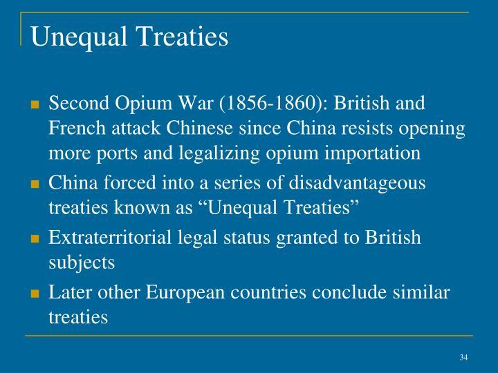Unequal Treaties