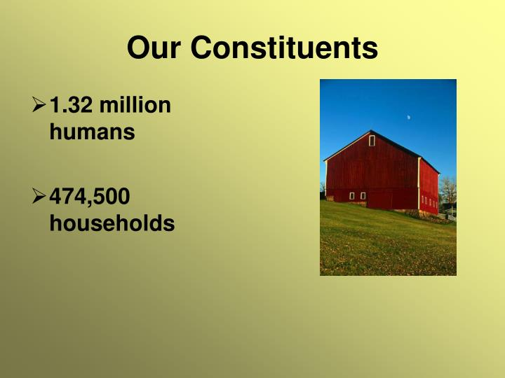 Our Constituents