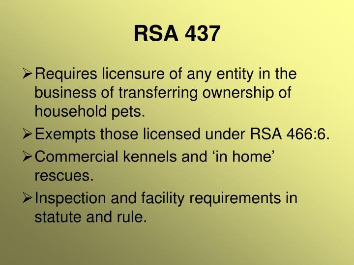 RSA 437