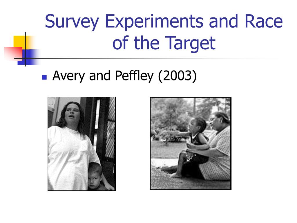 Survey Experiments and Race of the Target