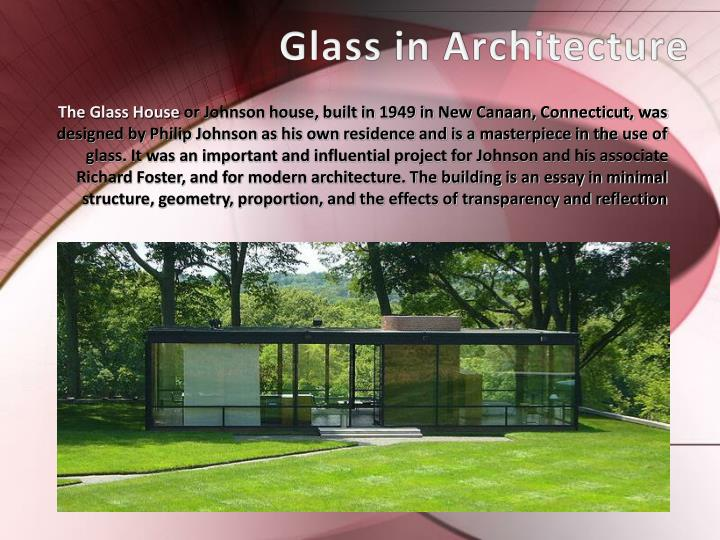 Glass in Architecture