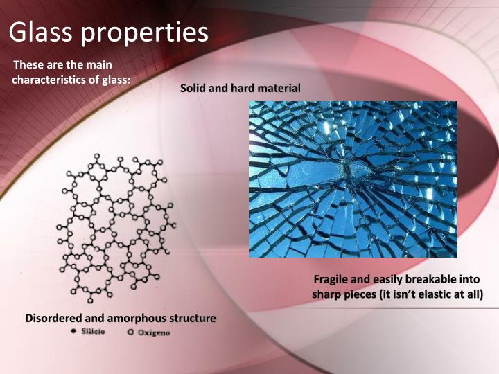 Glass properties