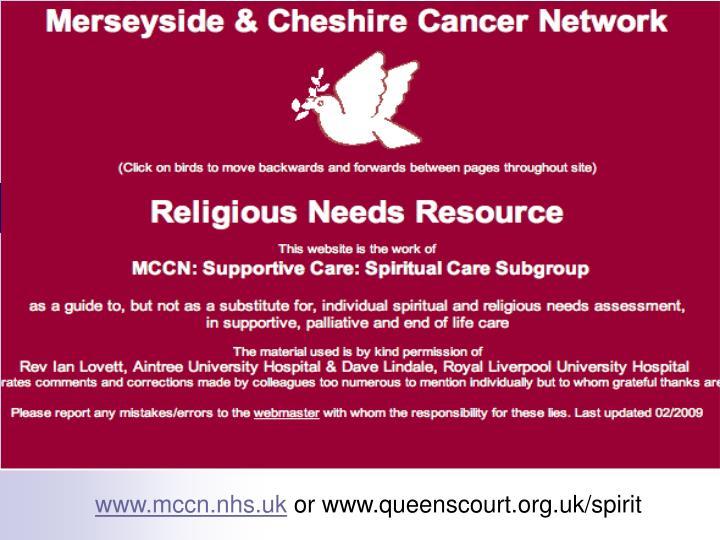 www.mccn.nhs.uk