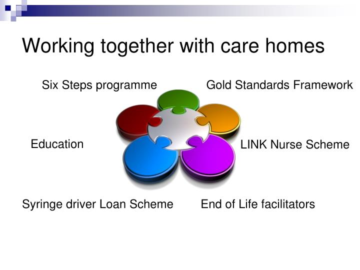 Working together with care homes