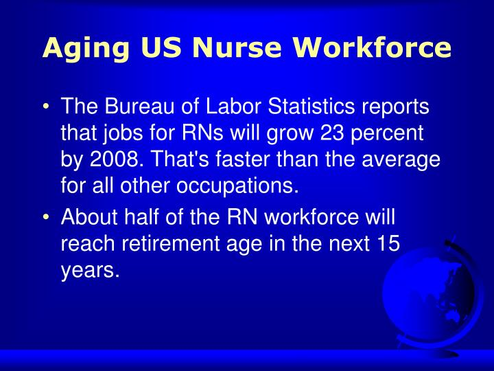 Aging US Nurse Workforce