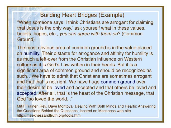 Building Heart Bridges (Example)