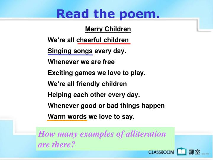 Read the poem.