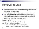 review for loop2