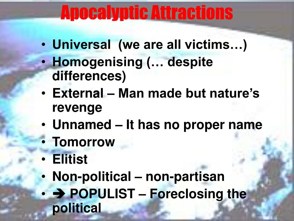 Apocalyptic Attractions
