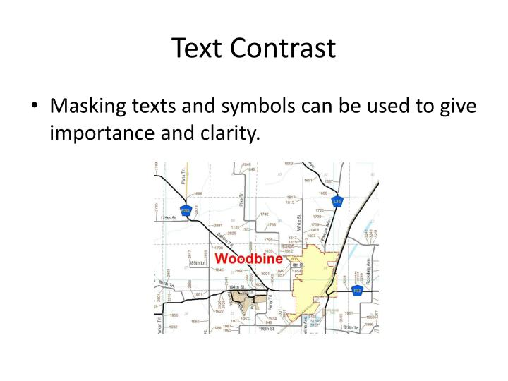 Text Contrast