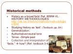 historical methods1