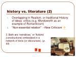 history vs literature 2