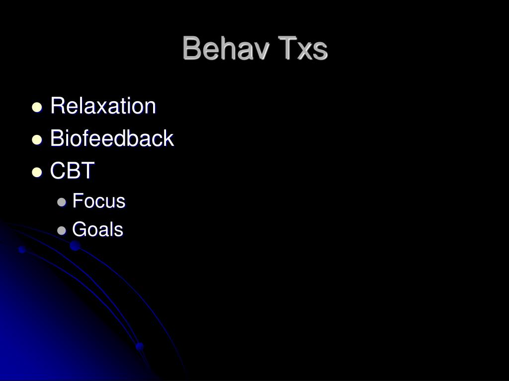 Behav Txs