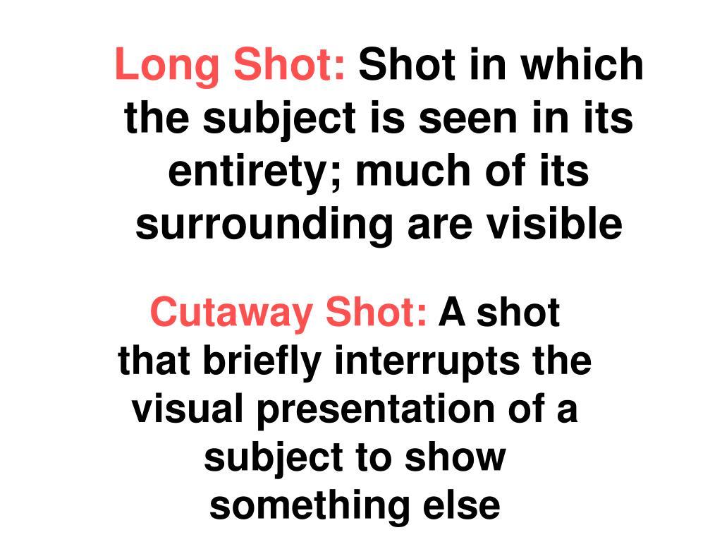 Long Shot: