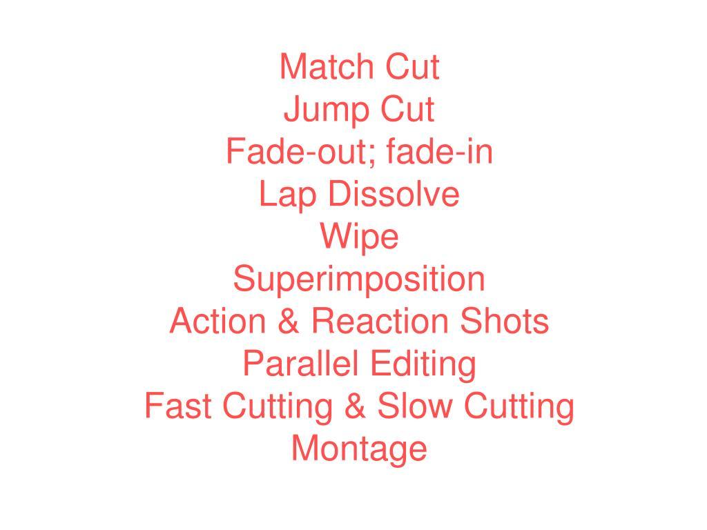 Match Cut