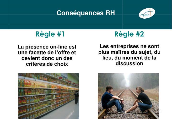 Conséquences RH