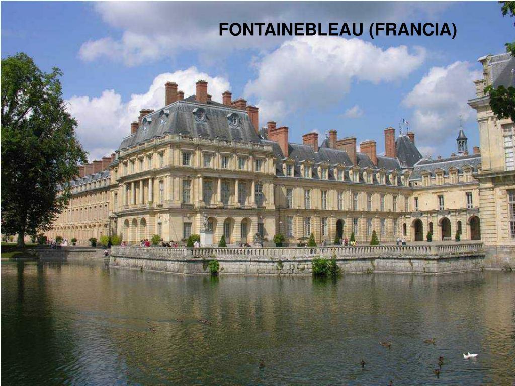 FONTAINEBLEAU (FRANCIA)