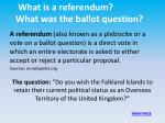 what is a referendum