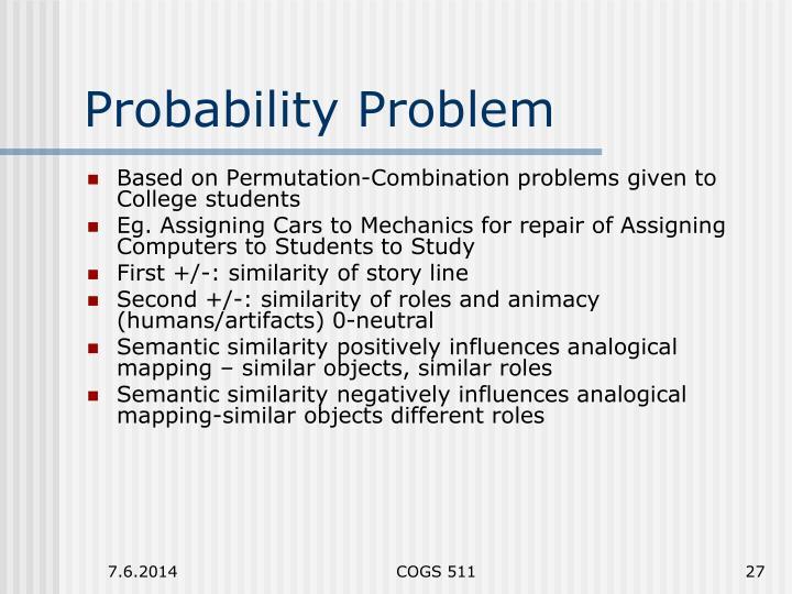 Probability Problem