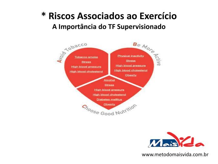 * Riscos Associados ao Exercício