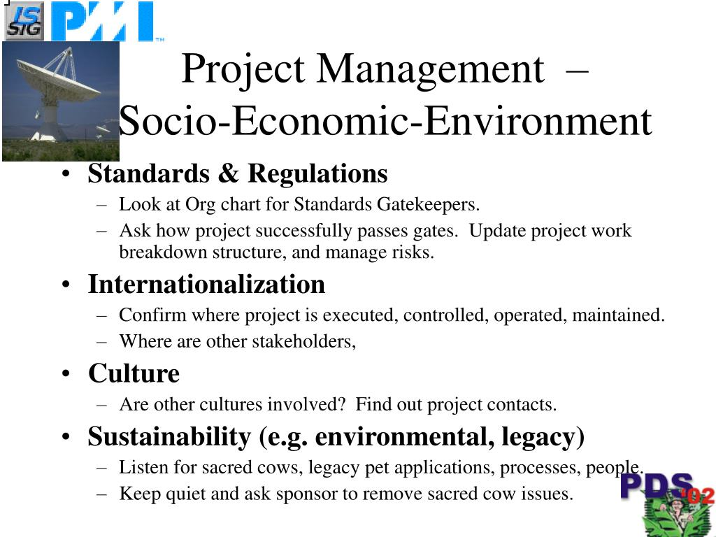 Project Management  –