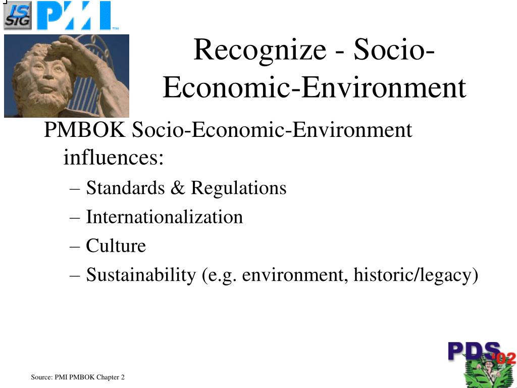 Recognize - Socio-Economic-Environment