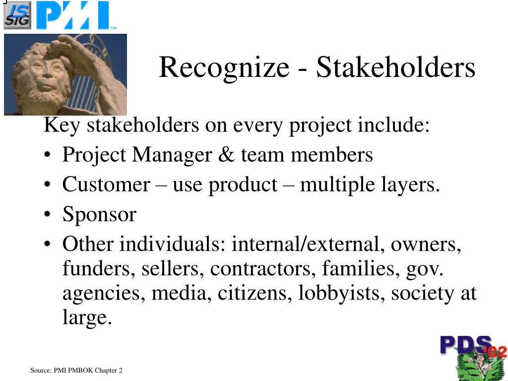 Recognize - Stakeholders
